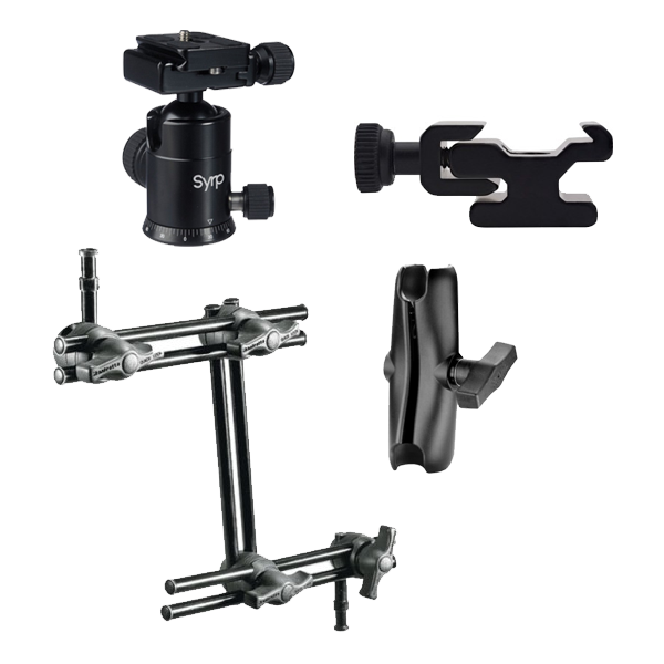 Articulating Arms & Shoe Mounts