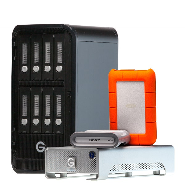 Hard Drives & RAID Storage