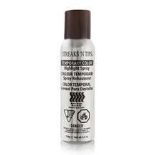 Streaks N Tips Temporary Color Highlight Spray - Burnt Brown