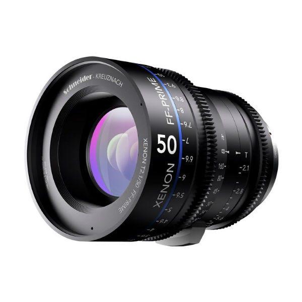 Schneider Optics Xenon FF T2.1 Prime Lens for Canon EF Mount (Various Fixed Focal Lengths)