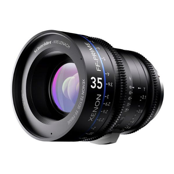 Schneider Optics Xenon FF T2.1 Prime Lens for ARRI PL Mount (Various Fixed Focal Lengths)