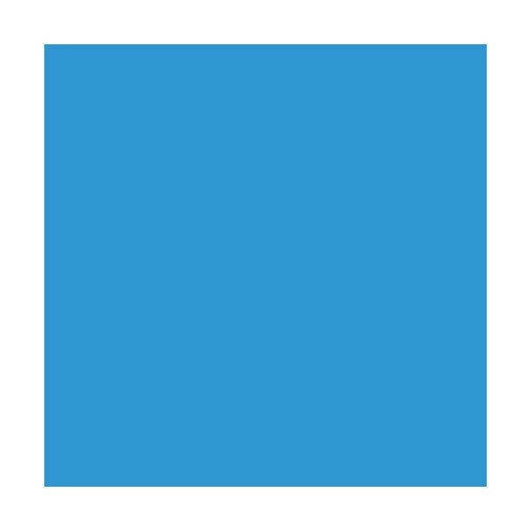 "Rosco Roscolux 362 24"" x 25' Roll - Tipton Blue"
