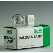 Ushio DVY JCD120V-650WSP Halogen Incandescent Projector Light Bulb (650W/120V)