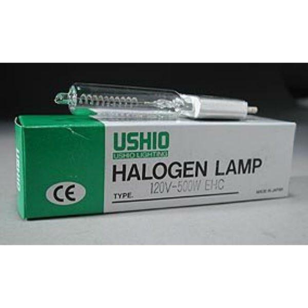 Ushio EHF JCV120V-750WCH Halogen Incandescent Projector Light Bulb 3200K (750W/120V)