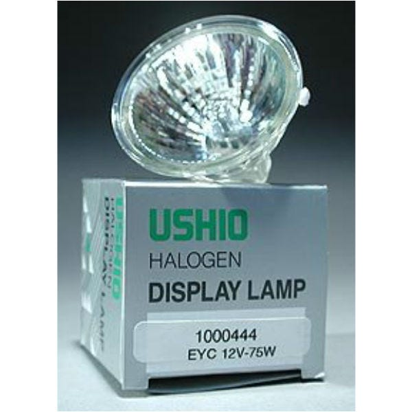 Ushio EYC JR12V-75W/FL36 Halogen Incandescent Projector Light Bulb 3000K (75W/12V)