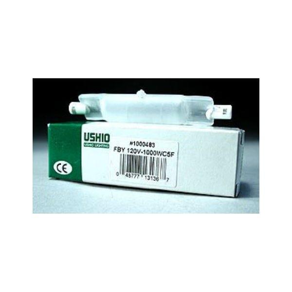 Ushio FBY JPD120V-1000WC5F Halogen Incandescent Projector Light Bulb 3200K (1000W/120V)