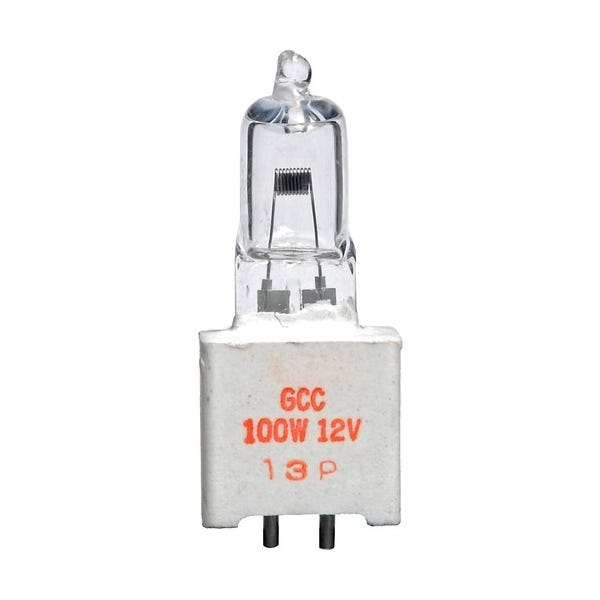 Ushio GCC JC12V-100WC5 Halogen Incandescent Projector Light Bulb 3300K (100W/12V)