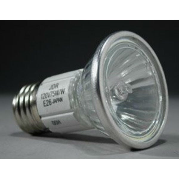 Ushio JDR120V75WW/E26/FG Halogen Incandescent Light Bulb 3000K (75W/120V)
