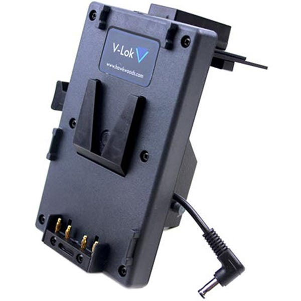 Hawk-Woods V-Lok Battery Adapter with Five D-Tap Ports for Sony FS7