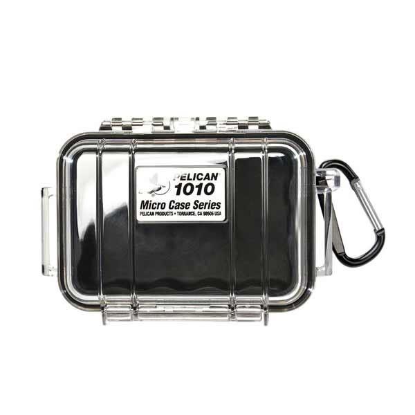 Pelican 1010 Micro Case - Clear/Black