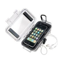 Pelican i1015 Micro Case for iPhone and iPod Touch - Clear Black