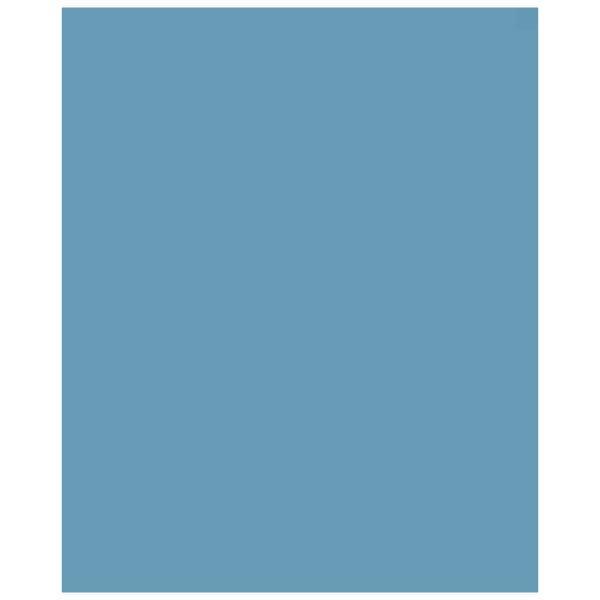"Superior Seamless 53"" x 36' Half Seamless Paper - Aquamarine"