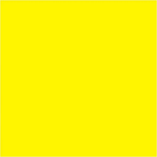 """LEE Filters 48"""" x 25' CL101 Gel Roll - Yellow"""