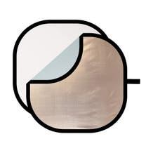 Westcott Illuminator Sunlight/Silver Collapsible Reflector 4-in-1 Kit w/ White Diffuser