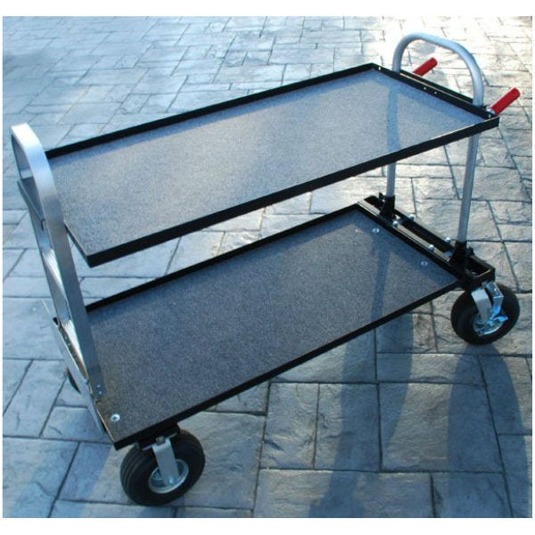 "Filmtools Patron Senior Equipment Cart w/ 10"" Wheels"