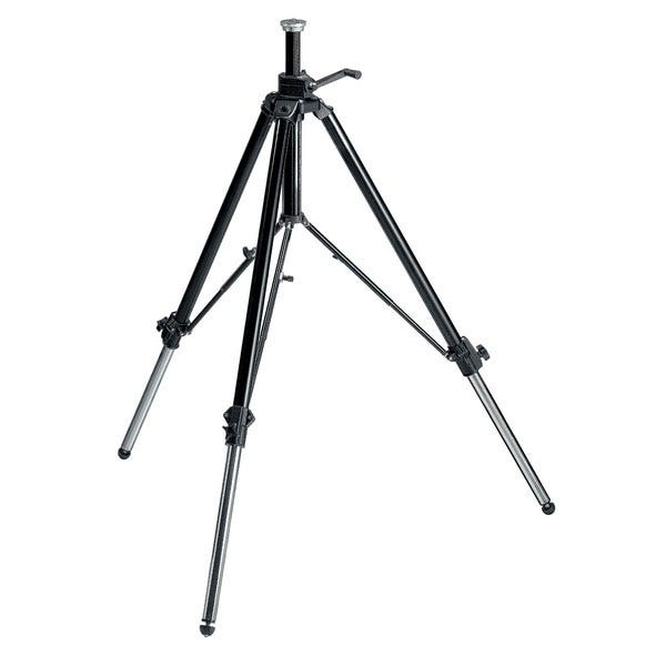 Manfrotto Geared Tripod w/ Black Rubber Feet - 117B