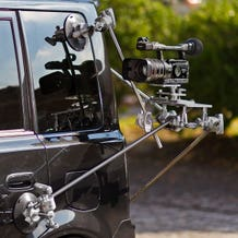 "Filmtools 4 Leg Car Mount with 6"" Vacuum Cups"
