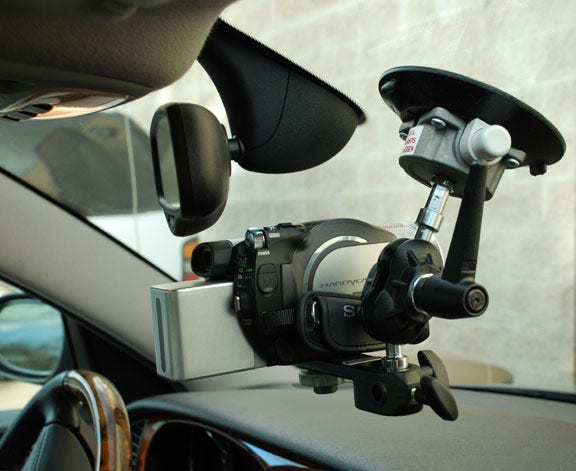 Gripper 115 - The Filmtools In-Car Windshield Camera Mount