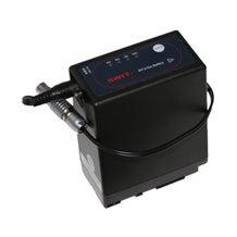 "Teradek BIT-641 Canon BP-945 Battery with 10"" Barrel Adapter to 2-Pin Lemo Cable"