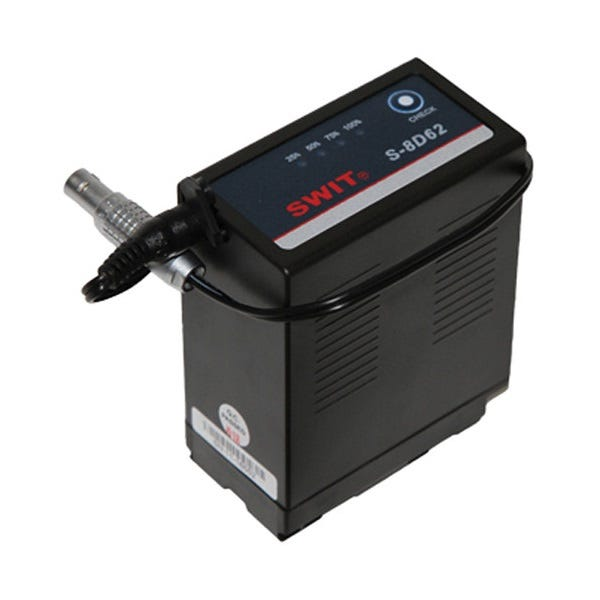"Teradek BIT-643 Panasonic D54 Battery Pack with 10"" Barrel Adapter to 2-Pin Lemo Cable"