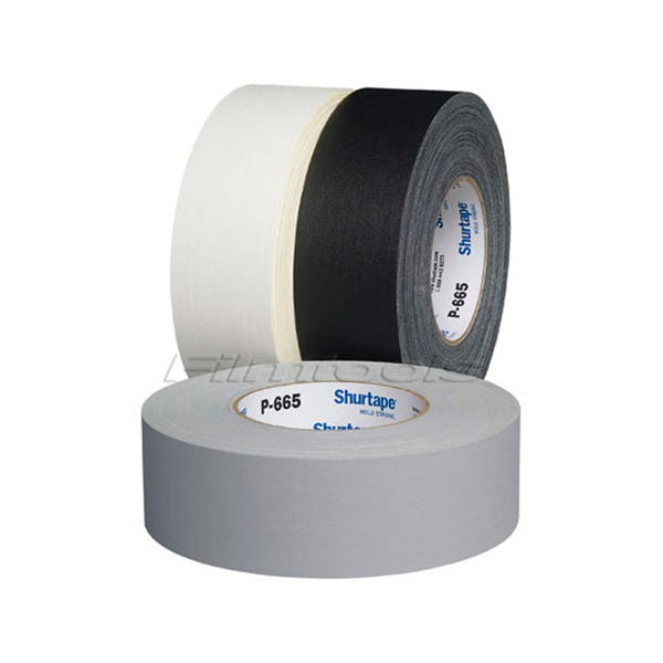 "Shurtape 2"" Gaffer Tape - 3 Colors - 2"" x 55 yards"