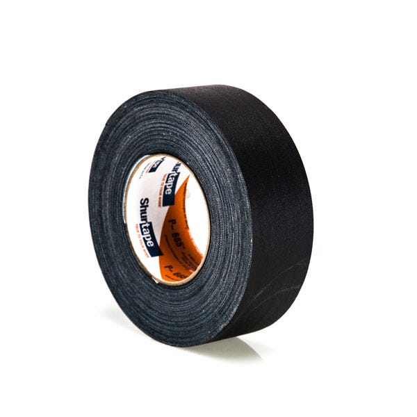 "Shurtape 672 Cold Weather 2"" Gaffer Tape – Black"