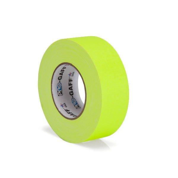 """Pro-Gaff 2"""" Gaffer Tape (Fluorescent Colors)"""