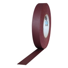 "Pro-Gaff 1"" Gaffer Tape (Camera Tape) - Burgundy"