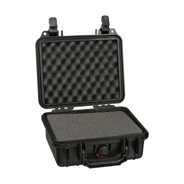 Pelican 1200 Case with Foam - Black