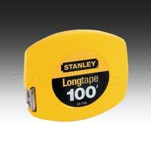 """Stanley 34-106 100ft. by 3/8"""" Longtape Steep tape Measure Rule"""