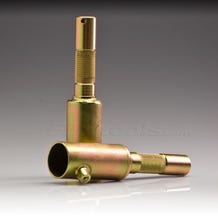Modern Pipe to Junior Male Adapter for 1-1/4""