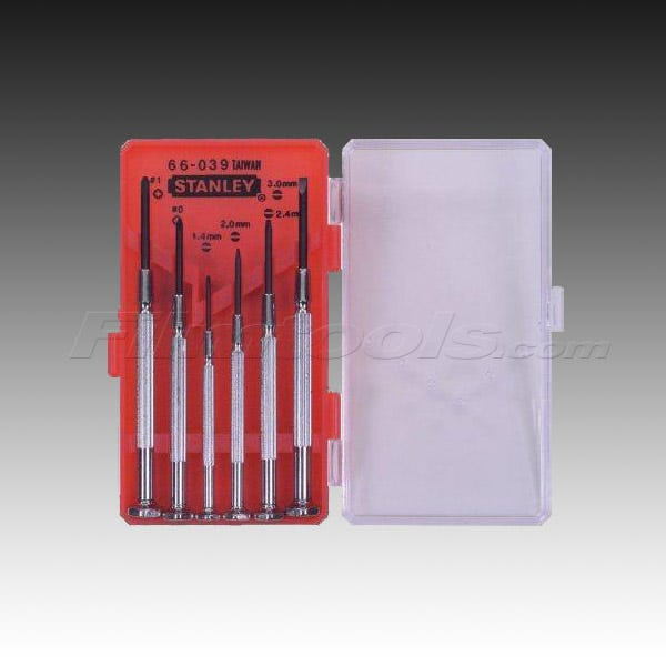 Stanley 6-Piece Precision Mini Screwdriver Set 66-039