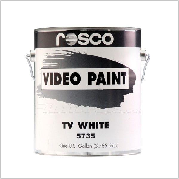 Rosco White TV Paint - 1 Gallon (Ground Only), Mfr #: 150057350128