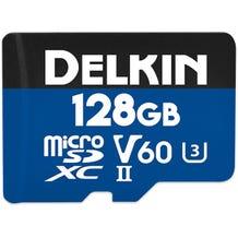 Delkin 128GB Prime UHS-II microSDXC Memory Card