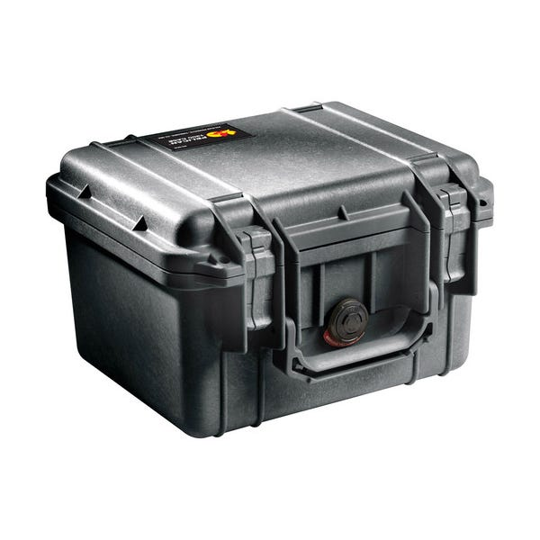 Pelican 1300 Case with Foam - Black