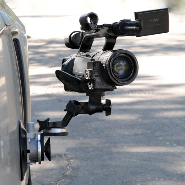 "Gripper 3025-RA - The Filmtools Right Angle 6"" Suction / Vacuum Cup Camera Mount"