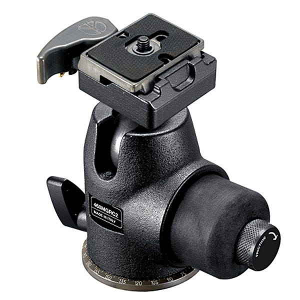 Manfrotto Hydrostatic Ball Head W/Rc2 Rapid Connect Plate (200Pl-14) 468MGRC2