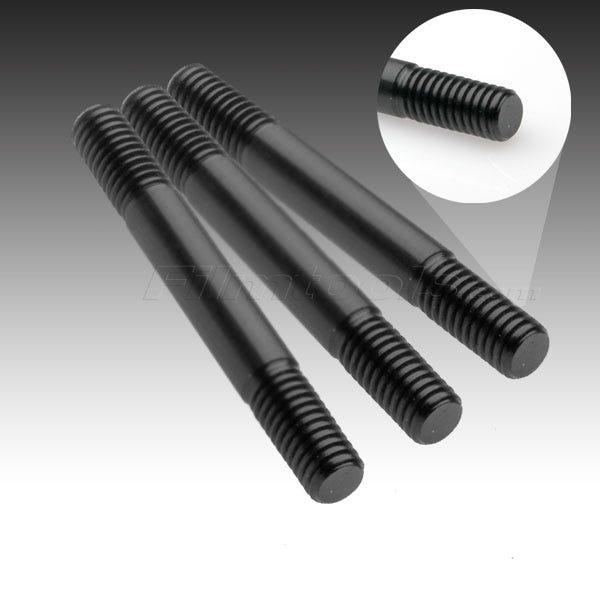 """Filmtools Teenie Weenie Solid Aluminum Black Rod 3/8""""x 3"""""""