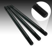 """Filmtools Teenie Weenie 3/8""""x 12"""" Solid Aluminum Black Rod"""