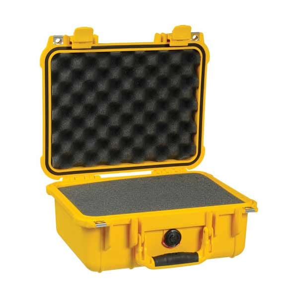 Pelican 1400 Case w/ Foam - Yellow