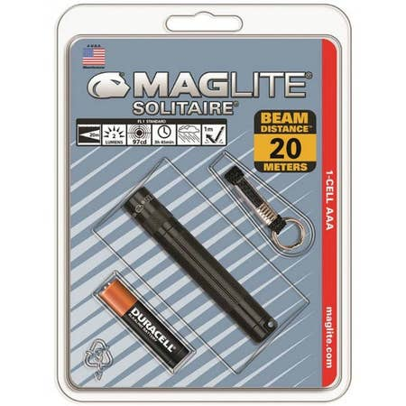 Maglite® Solitaire® 1-Cell AAA Flashlight (Black)