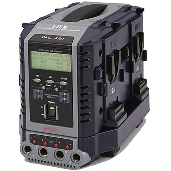 IDX 8-Channel Simultaneous, Quick Charger VAL-4SI
