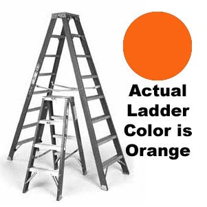 Sunset Ladder Co. F1A04 4ft. Single Sided Step Ladder