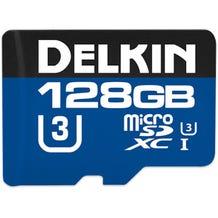 Delkin 128GB 660x microSDXC UHS-I Memory Card