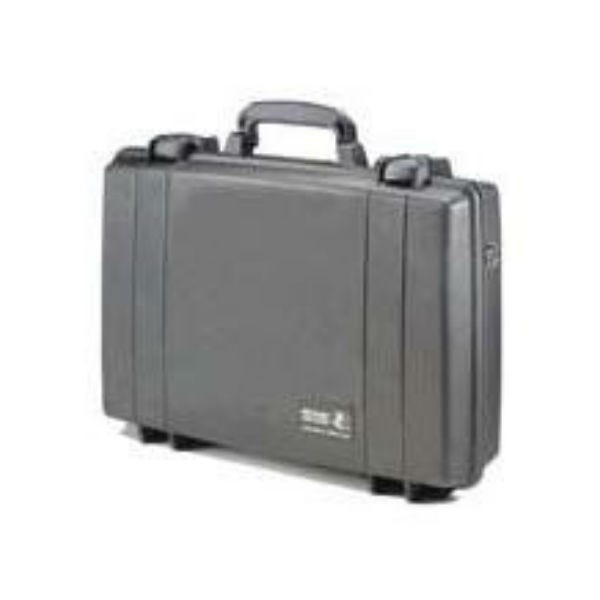 Pelican 1490 Attache/Computer Case with Foam - Black