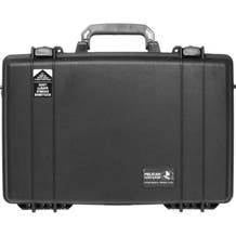 Pelican 1490CC1 Computer Case with Lid Organizer and Tray - Black