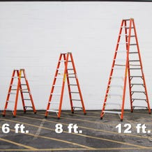 Sunnyside FD1A12 12' Double Sided Ladder