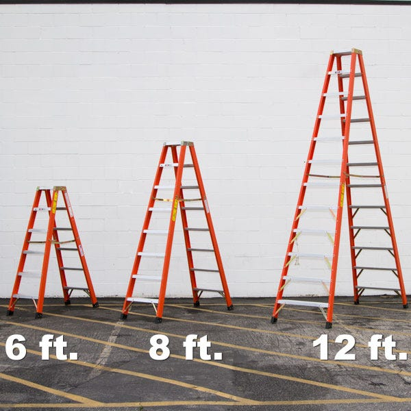 Sunnyside FD1A12 12' Double Sided Ladder