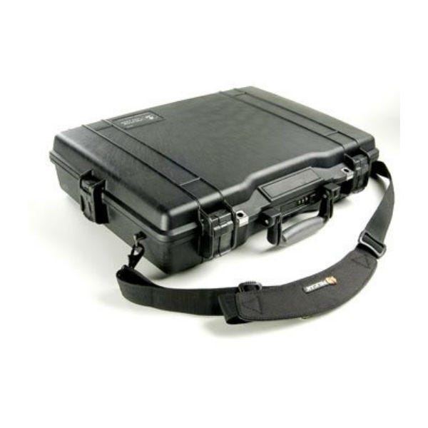 Pelican 1495 Laptop Computer Case with Foam - Black