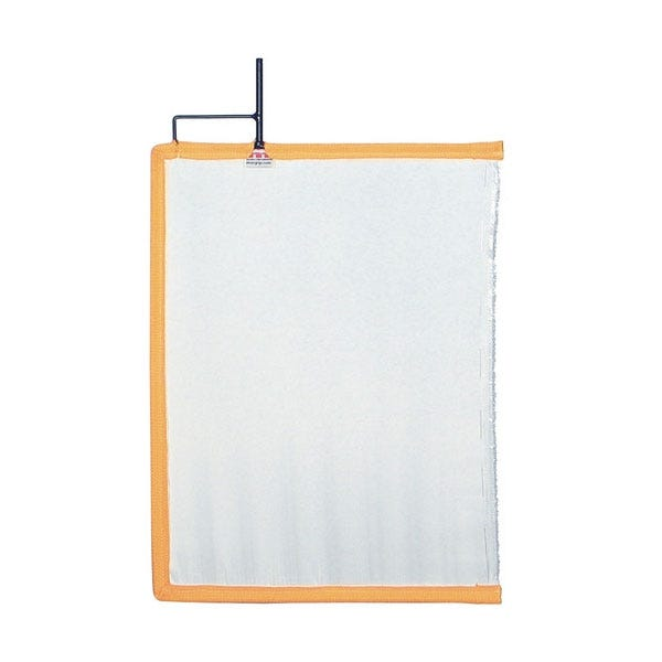 "Matthews Studio Equipment 18 x 24"" Open End Scrim - White Artificial Silk"